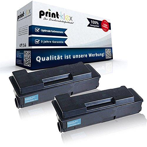 2x Kompatible Tonerkartuschen für Unisys ED 3200 ED 3300 1T02F80EU0 TK 310 TK-310 TK310 Black Schwarz - Office Pro Serie (Ed-drucker)