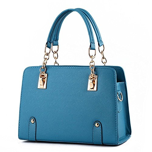 koson-man-womens-pu-leather-vintage-beauty-fashionable-tote-bags-top-handle-handbagblue