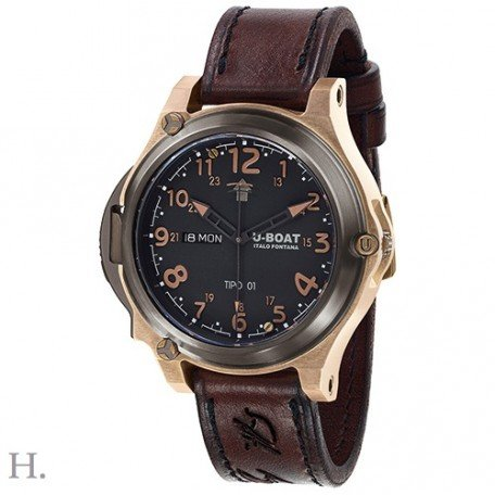 U Boat TIPO 01 50 mm Titanium Bronze Limited Edition