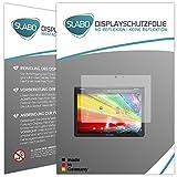 Slabo 2 x Film de Protection d'écran pour Archos 101 Oxygen écran Film No Reflexion Mat
