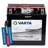 Varta Powersports AGM YTX14-BS - 12 V/12 Ah - 200...