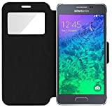 iPOMCASE Coque Etui Pochette Housse Protection Samsung Galaxy Alpha, G850