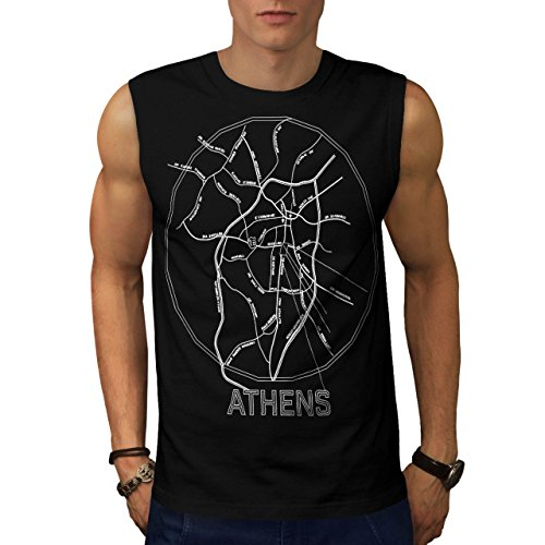 greece-city-athens-big-old-town-men-new-black-s-sleeveless-t-shirt-wellcoda