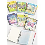 Children's Notebook and Pen Set with Butterfly design