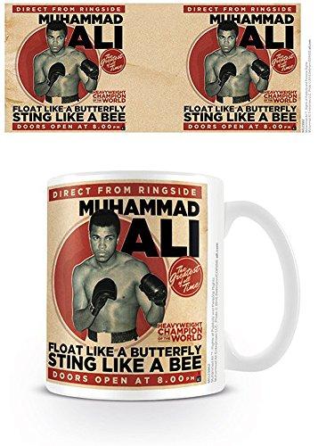 empireposter 741554 Tasse Muhammad Ali - diamètre 8,5 cm - Céramique - Multicolore - 12 x 8 x 9,5 cm
