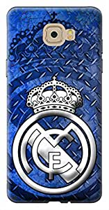 Mott2 Back Case for Samsung Galaxy C7 Pro | Samsung Galaxy C7 ProBack Cover | Samsung Galaxy C7 Pro Back Case - Printed Designer Hard Plastic Case - Real Madrid C.F theme