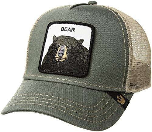 Trucker Olive (Goorin Bros. Drew Bear Baseball- / Trucker-Cap in olive)