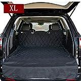HCMAX Grande Cane Veicolo Protezione Bagagliaio Auto Copertura per Sedile Cani Animale domestico Coprisedile Stuoia Antiscivolo Impermeabile Universale per SUV Camion Jeep Furgoni - XL
