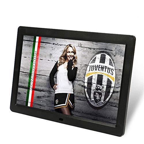 SMDFDN Digitaler Fotorahmen mit 14-Zoll-HD-Tasten for das Business-Display LE D Enterprise-Display An der Wand montierter Video-Player (Color : Black)