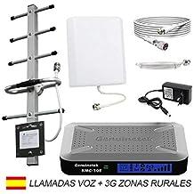 Genuinetek Amplificador Cobertura móvil gsm 3G 900 MHz para Zonas Rurales de Mala Cobertura