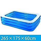 Folding bathtub-TOYM Erhöhen Sie Die Verdickung Der Aufblasbaren Swimmingpool-Familie Der Kinder...