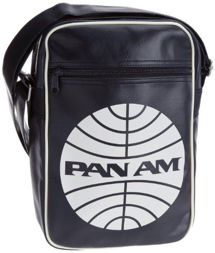 Logoshirt Pan Am(M), Borsa a tracolla Blu (Bleu foncé)