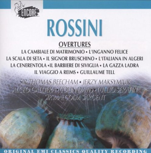 Rossini : Ouvertures [Import allemand]