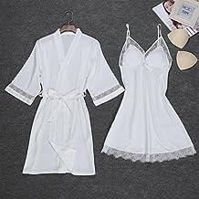 Andensoner Vestido de Pijama de camisón de Mujer con Bandolera Perfecto