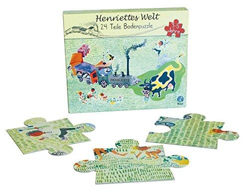 Henriettes Welt Bodenpuzzle 24Teile: Henriette Bimmelbahn