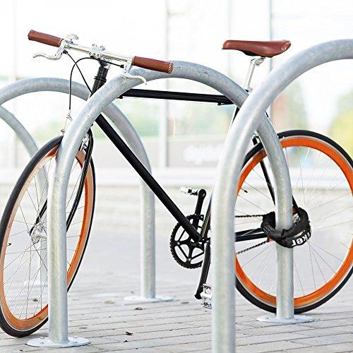 Fahrradschloss, Terra Hiker Zahlenschloss, Fahrrad Kettenschloss mit Zahlencode, 5-Ziffern Zahlenkombination Kabelschloss Radschloss Motorradschloss - 6
