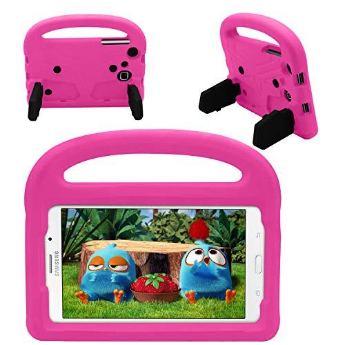 .0 Schutzhülle, stoßfest Fall Kindersicher , Tablets Kids Cover für Samsung Galaxy Tab 3 Lite 7.0/Tab 4 7.0/Tab A 7.0/Tab 3 7.0 P3200(Rose) ()