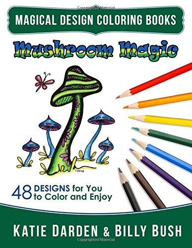 mushroom-magic-48-fantasy-designs-for-you-to-color-enjoy-volume-10-magical-design-coloring-books