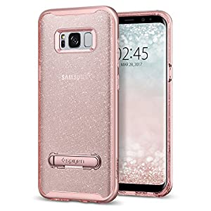 Spigen Crystal Hybrid Galaxy S8 Plus Glitter Rose Quartz