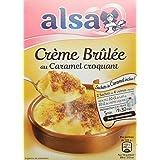 Alsa Préparation Crème Brûlée Nappage Caramel 2 Sachets 196 g