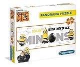 Clementoni 39409–Puzzle Panorama DMF Minions