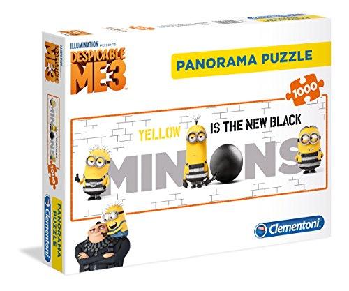 Clementoni - Puzzle Panorama Dmf Minions, 39409