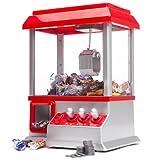Monsterzeug Gravierter Süßigkeitenautomat mit Greifarm, Greifautomat für Süßigkeiten, Candy Grabber, Kirmes Greifer Spielautomat, Geschenk für Kinder