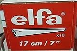 Elfa Regalträger für massive Zwischenböden, 17 cm, Weiß, 10 Stück