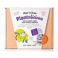 Plant-n-Grow Plantalicious Kids Grow Your Own Edible Garden Kit