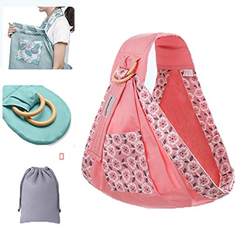 QIQI Baby Sling Neugeborenes Baby Stillen Handtuch Cross-Holding Four Seasons Multifunktions Sommer Breathable Net,8 (Handtuch Umgekehrt)