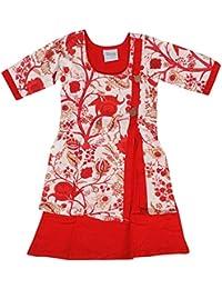 Vastra Vinod Girls' A-Line Dress