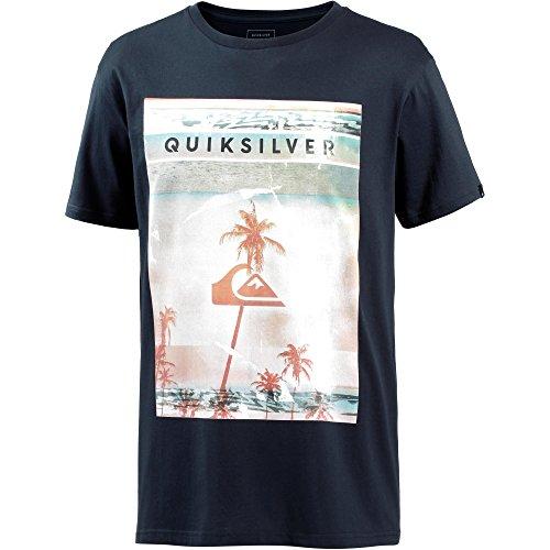 Quiksilver Herren T-Shirt blau L