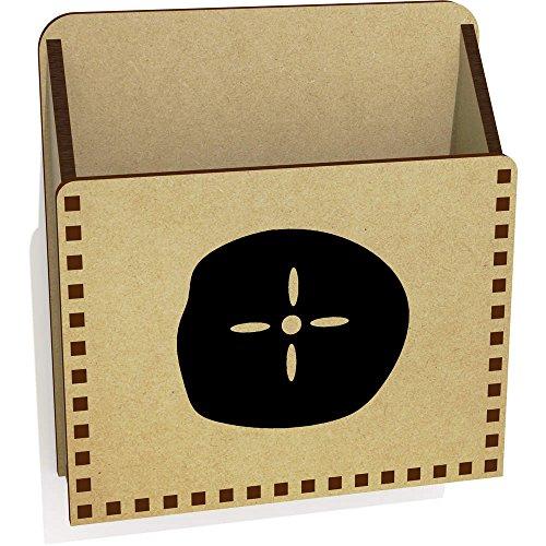 Azeeda 'Sand Dollar' Hölzern Brief Halter / Box (LH00019539)