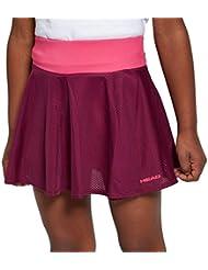 Cabeza de Visión Junior Skort de Tenis, Gris, Junior XL