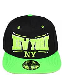 Original Snapback Cap New City Cappy NY LA Typo Unisex Einheitsgröße Era! Ness