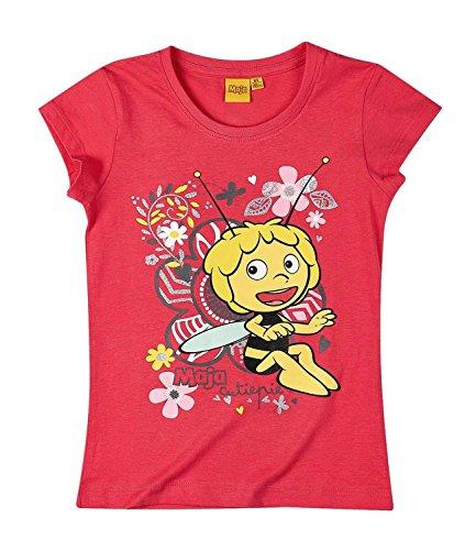Biene Pullover (Die Biene Maja Kollektion 2017 T-Shirt 86 92 98 104 110 116 122 128 Shirt Maya Neu Rot (98 - 104, Rot))