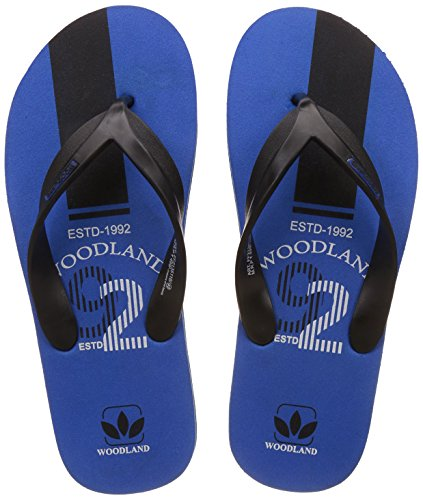 Woodland Men's Rblue Flip Flops Thong Sandals - 7 UK/India (41 EU)  available at amazon for Rs.299