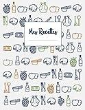 Telecharger Livres Mes Recettes Cahier de papier blanc XXL pour ecrire 120 recettes et notes env A4 (PDF,EPUB,MOBI) gratuits en Francaise