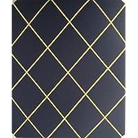 Notice Boards/Memo Boards/40 x 48 cm, in feltro, colore: nero, oro, da lavoro elastica in Lattice Bulletin tavole Message Boards
