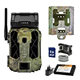 SpyPoint Wild-/Überwachungskamera LINK-S-EU inklusive Lithium-Akku SD-Karte und Metallschutzgehäuse Outdoor