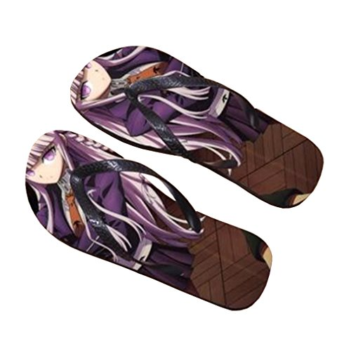 Bromeo Danganronpa Anime Unisexe Flip Flops Tongs 105