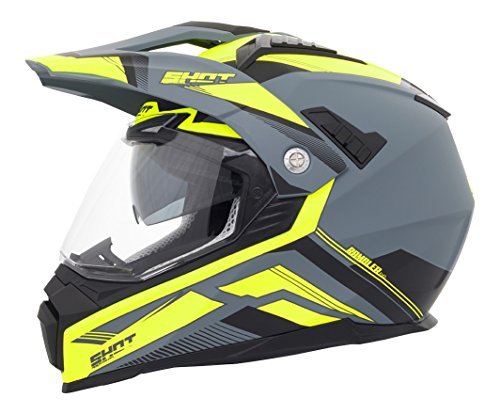 Shot Helm Cross Ranger Evolution schwarz gelb Gr.