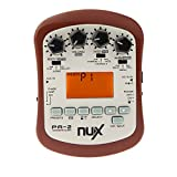 NUX PA-2 Acoustic Guitar Effect multifonctions portable