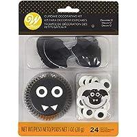 Food Items Kit de decoración para cupcakes, Murciélago de Halloween, talla única