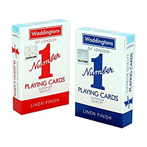 Waddingtons Number 1 Gemelo, Color Paquete Doble. (Winning Moves 032919)