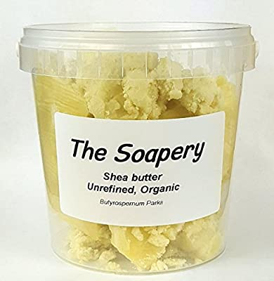 Shea butter 1kg - Certified Organic, Unrefined, Raw, Natural - 100% Pure by The Soapery