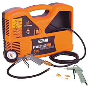Revolution Air 425015 Compressore Boxy 1 5 Hp Amazon It Fai Da Te