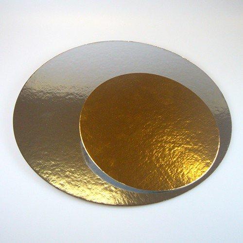 Autour du gateau - Pâtisserie et évênements - Lot de 3 semelles à gâteaux ronde 30 cm