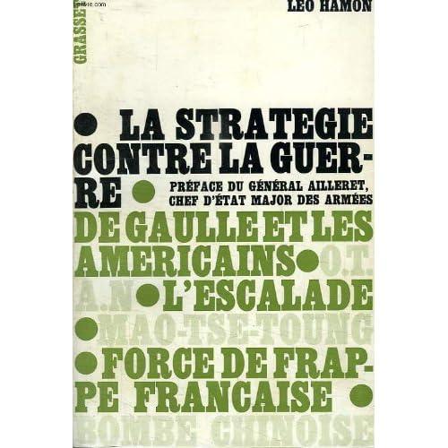 La stratégie contre la guerre.