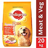 Pedigree Adult Dry Dog Food, Meat & Vegetables - 20 kg Pack
